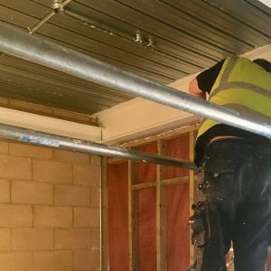 Firestop Electrical Service Penetrations